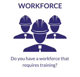 Do you have a workforce that requires training?